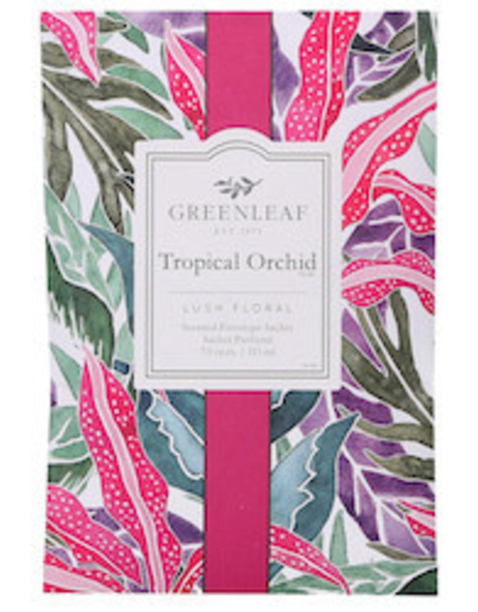 GreenLeaf Tropical Orchid Geurzakje groot - GreenLeaf