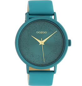 OOZOO Horloge C10581 viridian groen 42mm - OOZOO