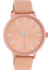 OOZOO Horloge C10617 zacht roze 42mm - OOZOO