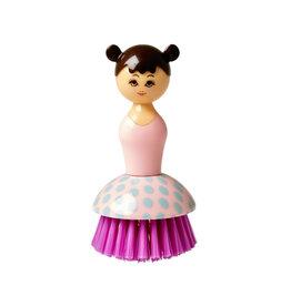 Rice Afwasborstel Doll Pink - Rice