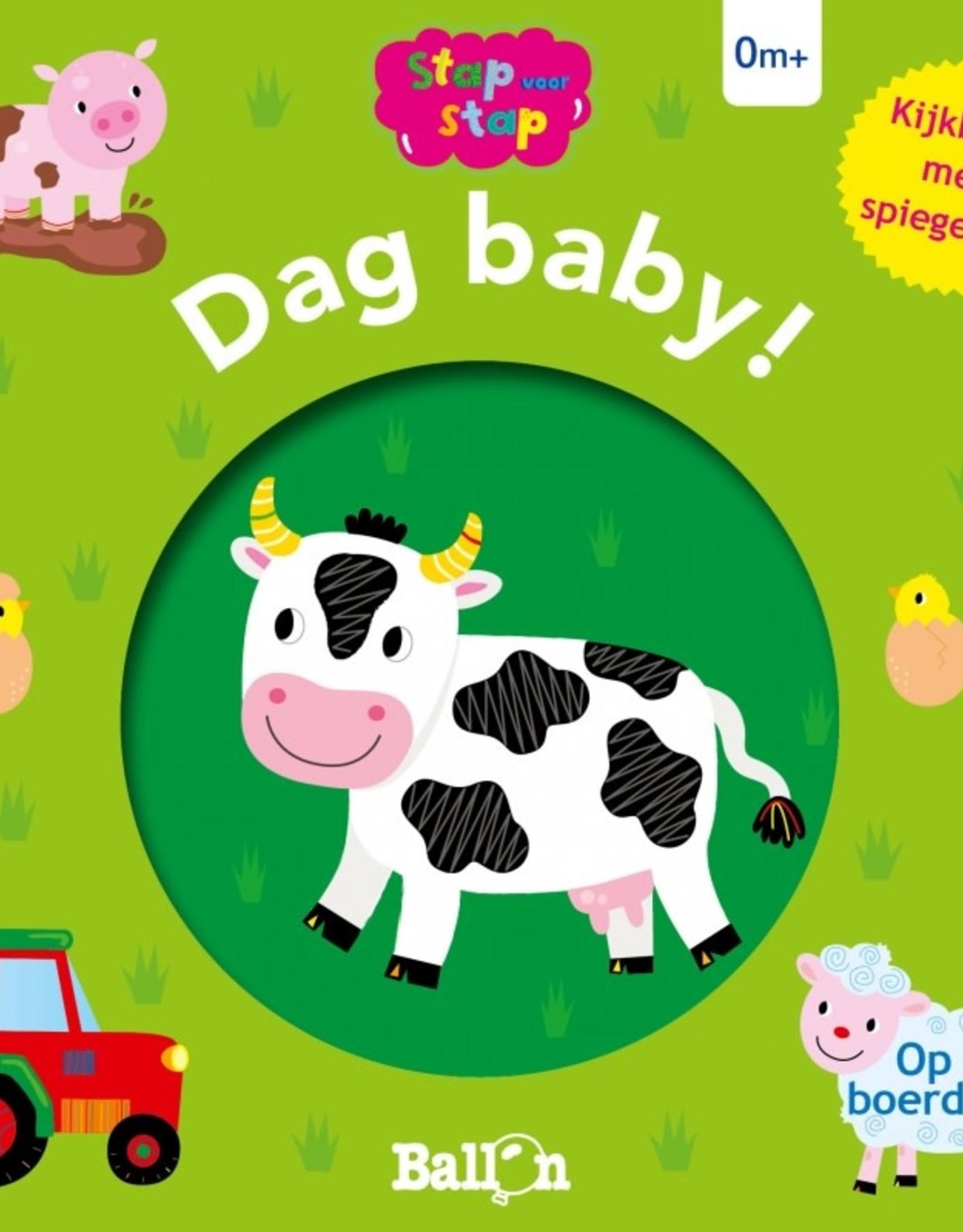 Dag Baby! Op de Boerderij - Kijkboek met Spiegeltje