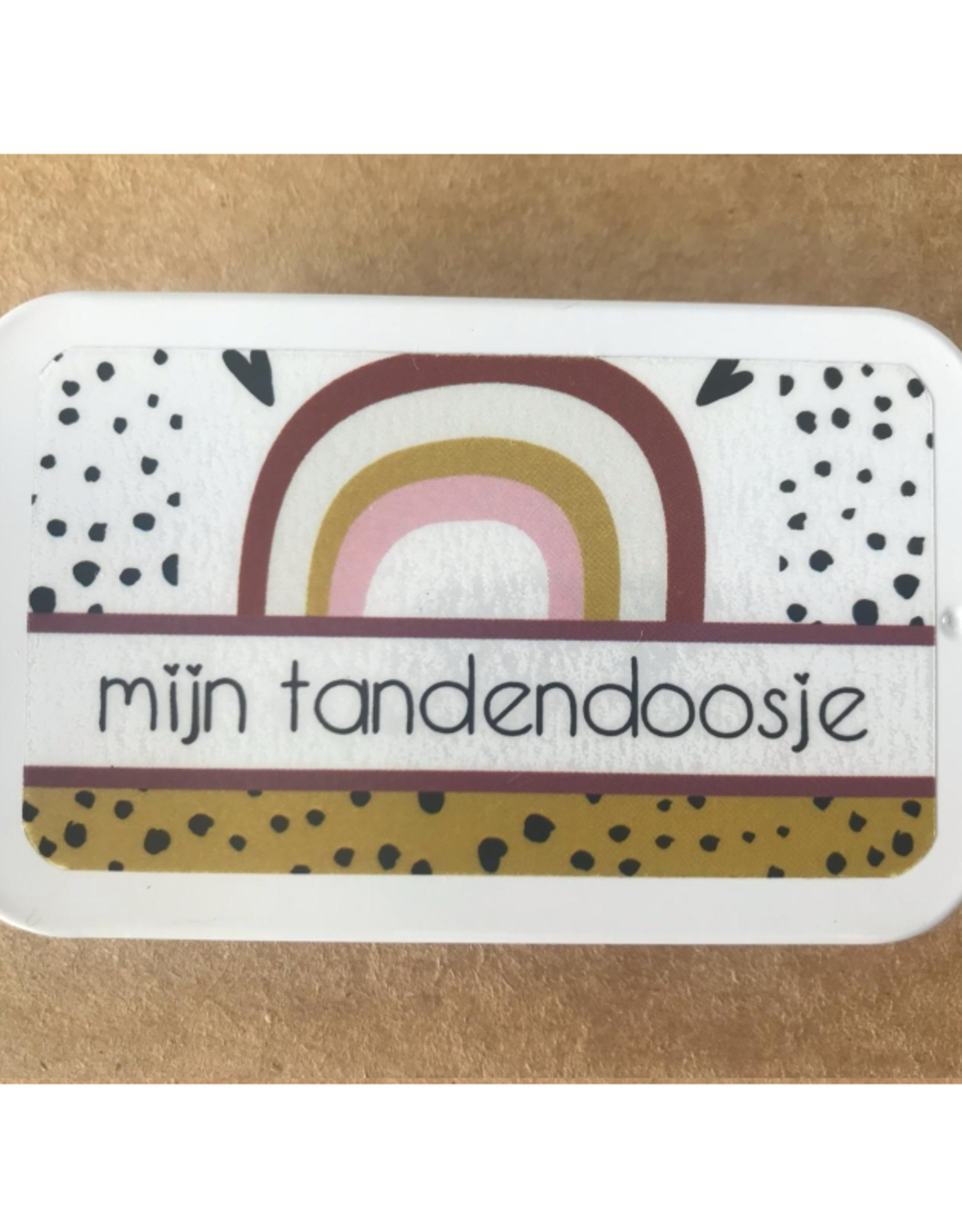 PeperMints Tandendoosje Regenboog - Pepermints