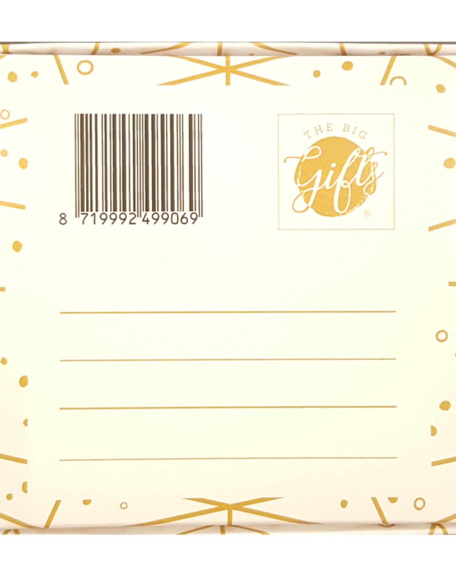 The Big Gifts Kaart en cadeau in een luxe doosje - Mini high wine/beer - cheers - The Big Gifts