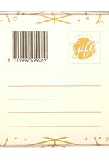 The Big Gifts Kaart en cadeau in een luxe doosje - Mini high wine/beer - Dankjewel! - The Big Gifts
