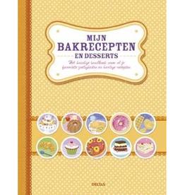"""Mijn Bakrecepten en Desserts """"invulboek"""" - Deltas"""