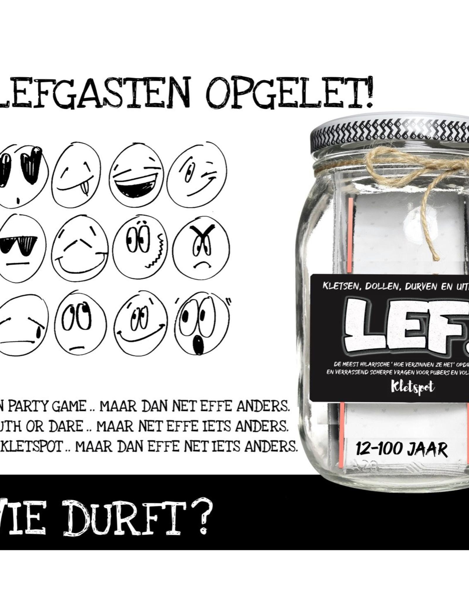 Kletspot LEF Kletsen, Dollen, Durven en Uitdagen - Kletspot