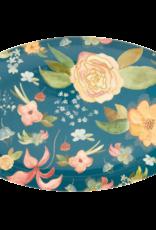 Rice Bord ovaal Melamine met Selma's Flower Print - Rice