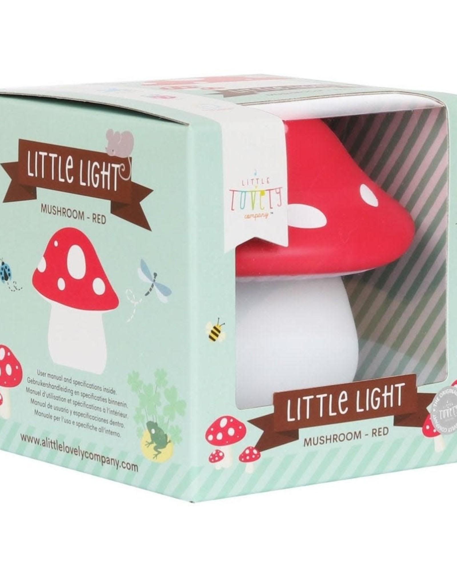 A Little Lovely Company Nachtlampje Paddenstoel - A Little Lovely Company