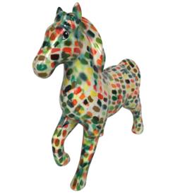 "Pomme-Pidou Spaarpot Paard ""Lucky"" gevlekt - Pomme-Pidou"