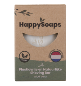 HappySoaps Shaving Bar Aloë Vera - HappySoaps