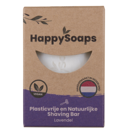 HappySoaps Shaving Bar Lavendel - HappySoaps