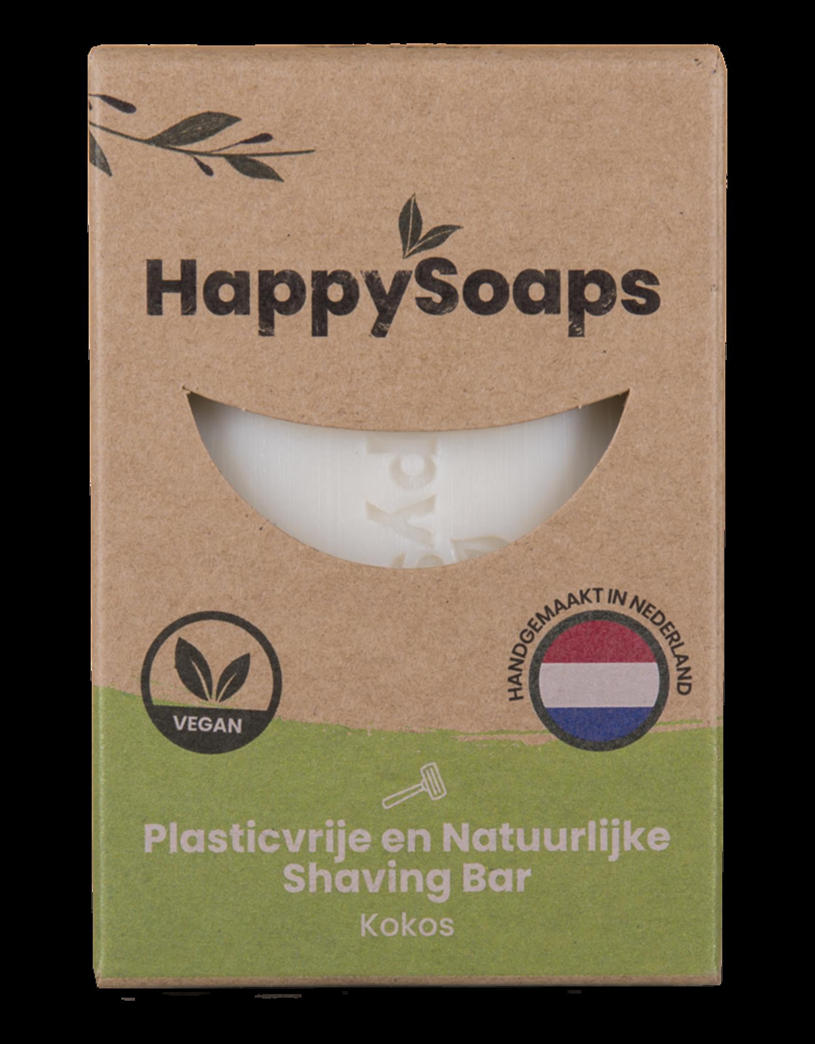 HappySoaps Shaving Bar Kokos - HappySoaps
