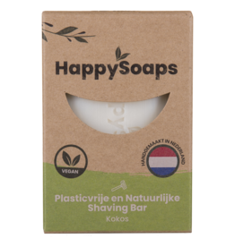 HappySoaps Shaving Bar Kokos - HappySoaps