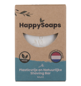 HappySoaps Shaving Bar Munt - HappySoaps