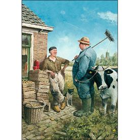 Weerpraatje - Wenskaart Marius van Dokkum