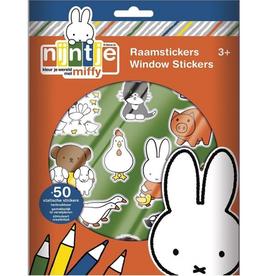 Raamstickers Nijntje +3jr