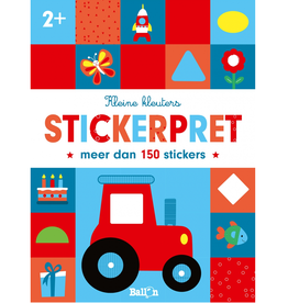 Kleine Kleuters Stickerpret +2jr - Ballon