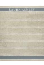 Laura Ashley Keuken Handdoek Cobblestone Stripe Horizontal - Laura Ashley