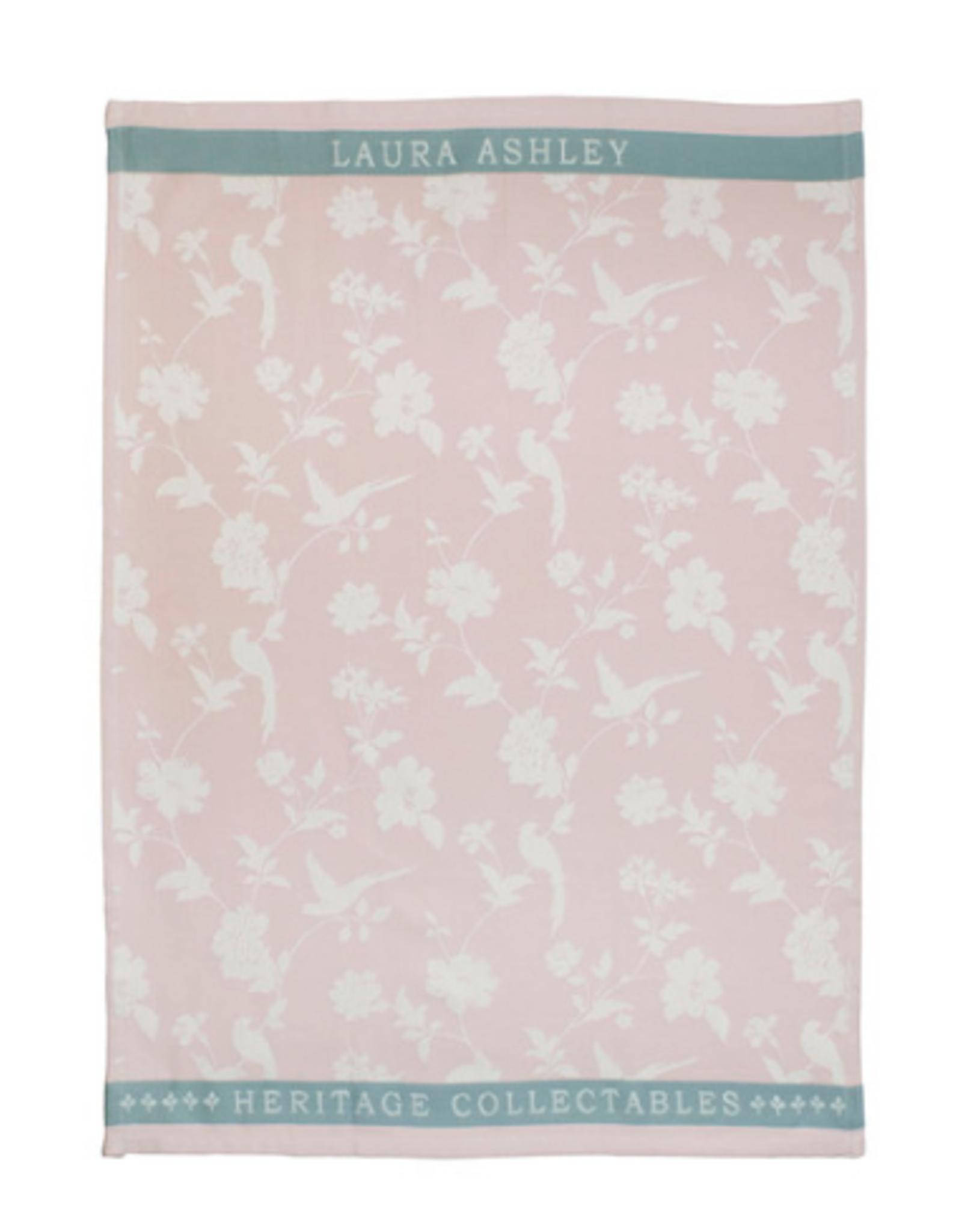 Laura Ashley Theedoek Blush Flowers - Laura Ashley