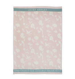 Laura Ashley Theedoek Blush Flowers - Laura Ashley
