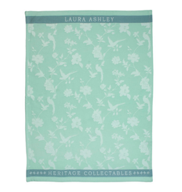 Laura Ashley Theedoek Mint Flowers - Laura Ashley