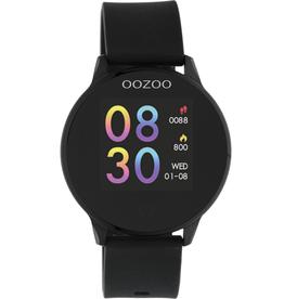 OOZOO Smartwatch Q00115 43mm Zwart/Zwart - OOZOO