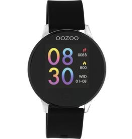 OOZOO Smartwatch Q00113 43mm Zwart/Zilver - OOZOO