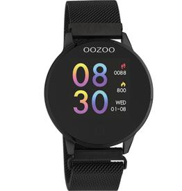 OOZOO Smartwatch Q00119 43mm Zwart/Zwart - OOZOO