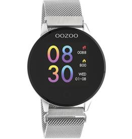 OOZOO Smartwatch Q00116 43mm Zilver - OOZOO