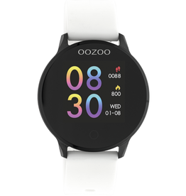 OOZOO Smartwatch Q00112 43mm Wit/Zwart - OOZOO