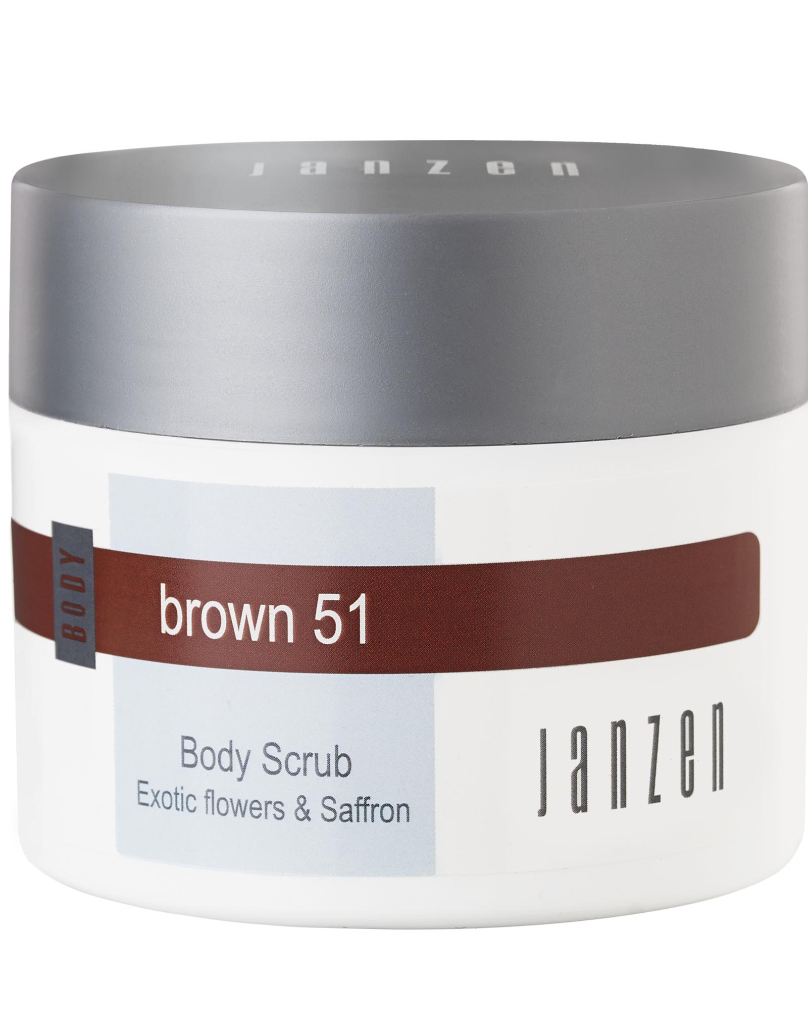 JANZEN Body Scrub Brown 51 200ml - JANZEN