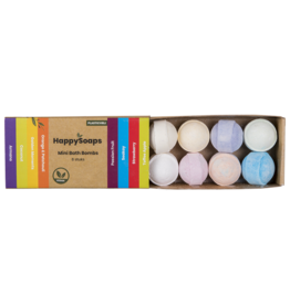 "HappySoaps Mini Bath Bombs ""Tropical Fruits"" - HappySoaps"