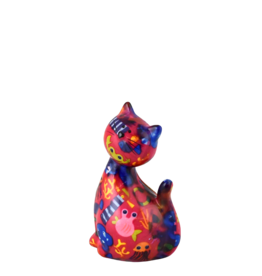 "Pomme-Pidou Spaarpot Kat ""Caramel"" S zee - Pomme-Pidou"
