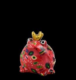 """Pomme-Pidou Spaarpot Kikker """"Freddy"""" S d.roze - Pomme-Pidou"""