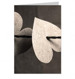 Wenskaart Blanco Heart - Casa Collection