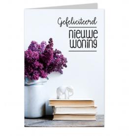 Wenskaart Gefeliciteerd Nieuwe Woning - Casa Collection
