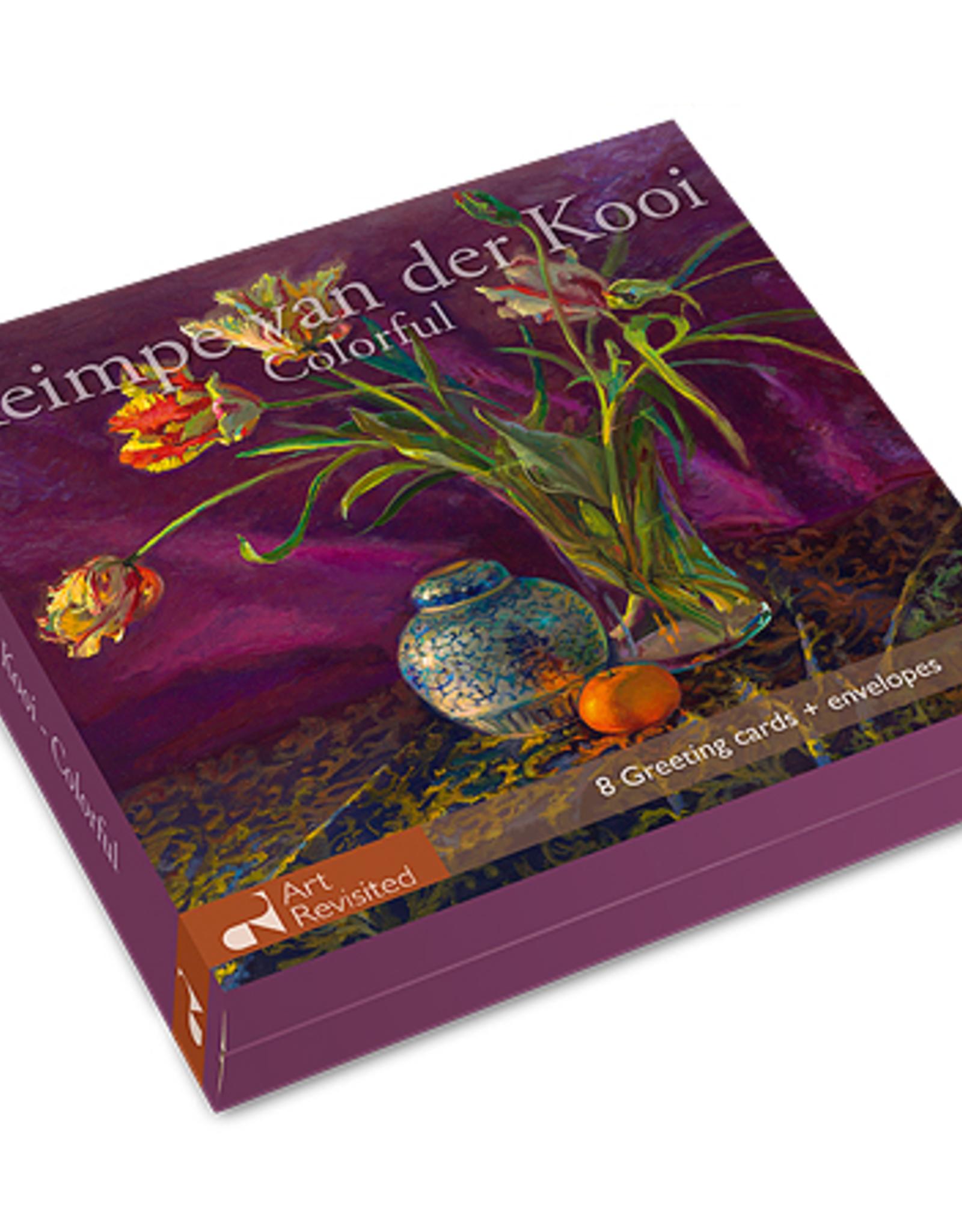Kaartenmapje Keimpe van der Kooi - Colorful