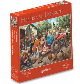 "Puzzel ""Tuinfeest"" Marius van Dokkum 48,5x68cm / 1000 pcs"