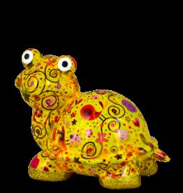 """Pomme-Pidou Spaarpot Schildpad """"Zeppy"""" M geel multicolor - Pomme-Pidou"""