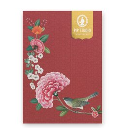 Pip Studio Notitieboek A5 Blushing birds rood - Pip Studio