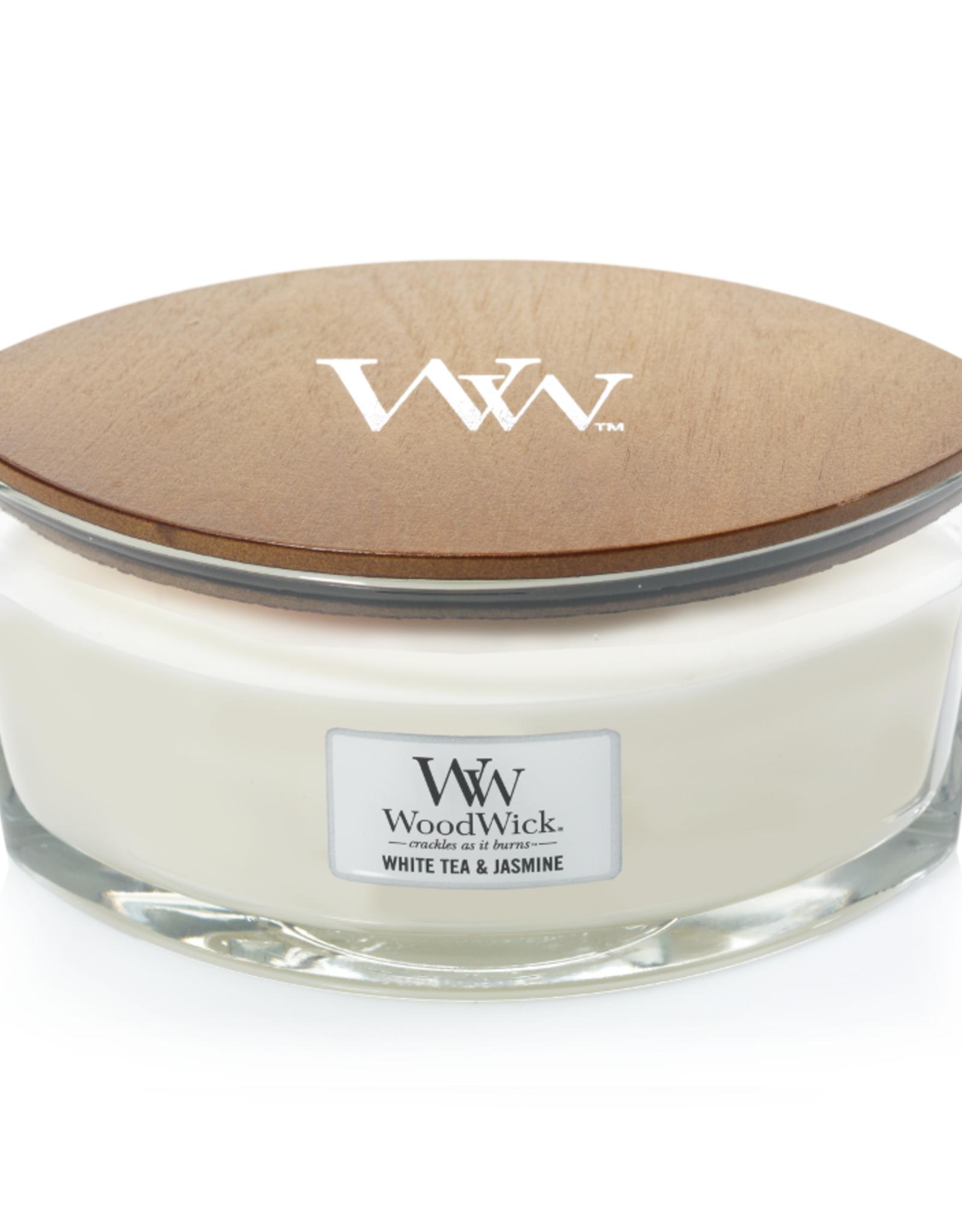 """WoodWick Kaars WoodWick """"White Tea & Jasmine"""" Ellipse - WoodWick"""