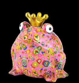 """Pomme-Pidou Spaarpot Kikker """"Freddy"""" L roze - Pomme-Pidou"""