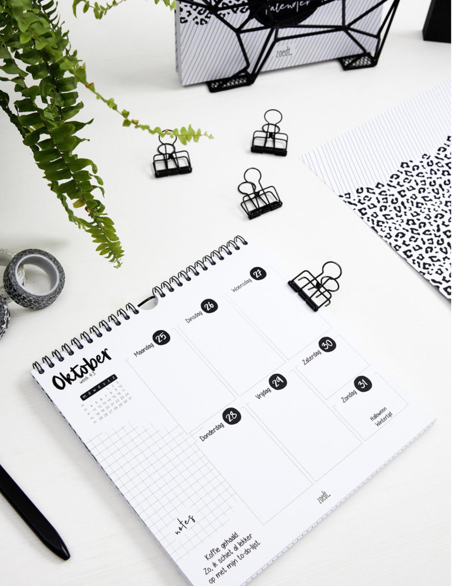 Zoedt Weekkalender 2021 - Zoedt