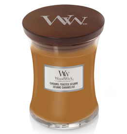 "WoodWick Kaars WoodWick ""Caramel Toasted Sesame"" medium - WoodWick"