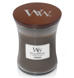 "WoodWick Kaars WoodWick ""Oudwood"" medium - WoodWick"