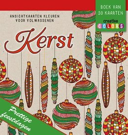 Ansichtkaarten kleuren voor Volwassenen - Kerst