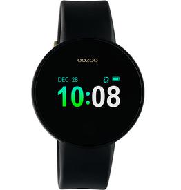 OOZOO Smartwatch Q00201 40mm Zwart/Zwart/Goud - OOZOO