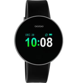 OOZOO Smartwatch Q00202 40mm Zwart/Zilver - OOZOO