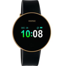 OOZOO Smartwatch Q00203 40mm Zwart/Goud/Goud - OOZOO