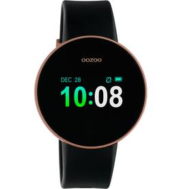 OOZOO Smartwatch Q00204 40mm Zwart/Rosé - OOZOO